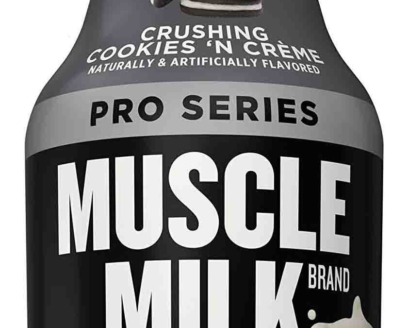 Review on Muscle Milk Pro Series Cookies and Cream