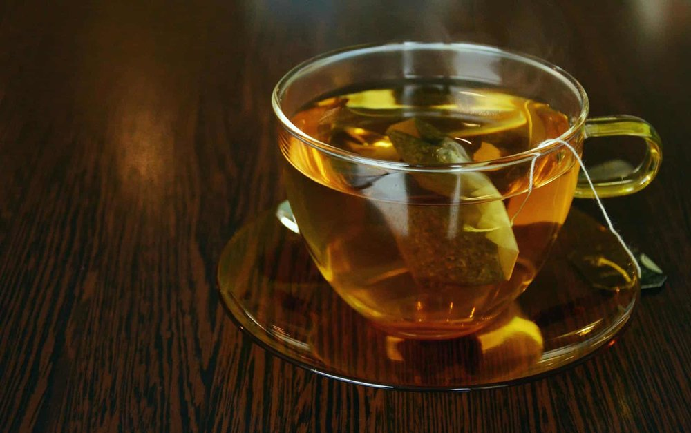 clear cup of tea