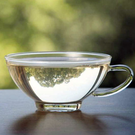 cup of white tea