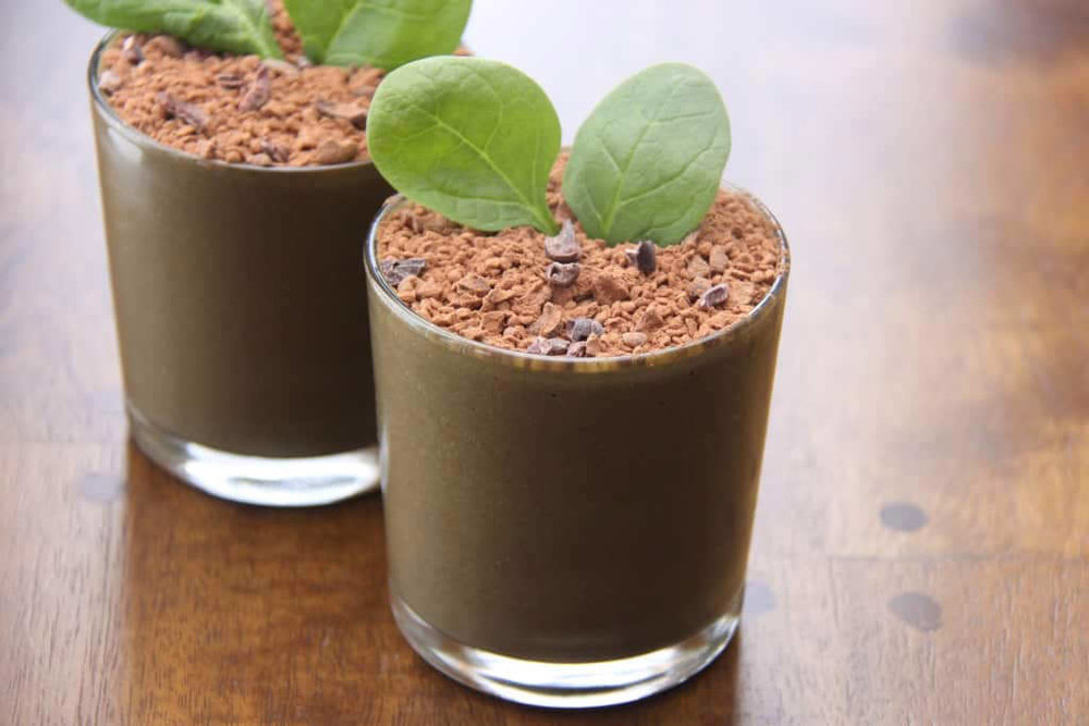 dark chocolate protein smoothie