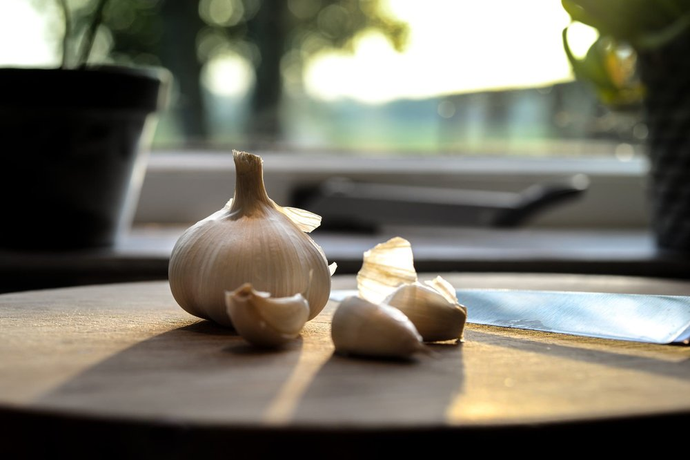 garlic kitchen peeled blub healthy stock