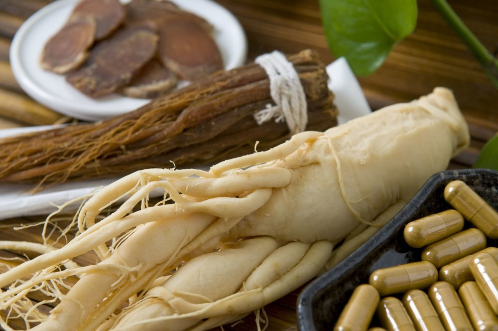 ginseng root panax supplements