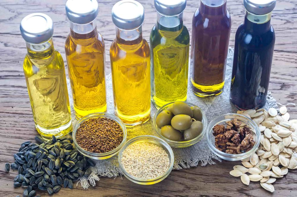 mix of vegetable oils