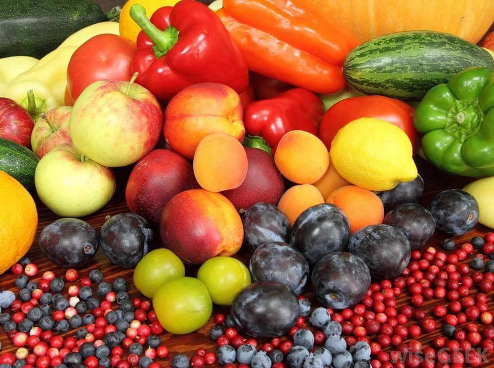 mixed fruit stall healthy low carb diet